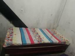 Vendo cama box solteiro 130$