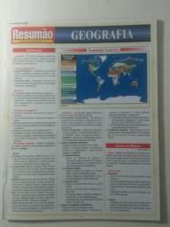 Resumão geografia