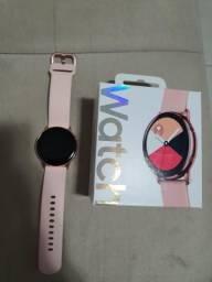 Vendo ou troco smartwatch galaxy active rose