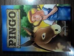 """Livro """"pingo o cavalo que não era cavalo"""""""