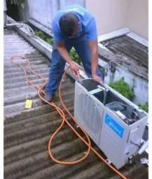 Promoção na limpeza de central de ar