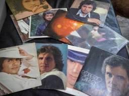 10 Discos de Viníl (LPs) do Roberto Carlos