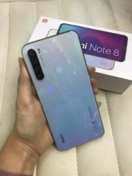Xiaomi Note 8 4/64 Novo White+ brindes