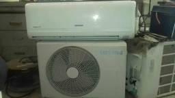 Ar condicionado samsung 9000btus 3 meses de garantia total aceita cartao