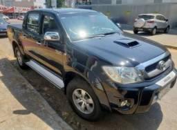 Toyota Hilux 3.0 SRV 4X4 CD 16V turbo intercooler diesel 4P automatico - 2010