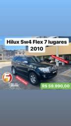 Hilux sw4 se 2.7 2010/2010 flex 7 lugares - 2010