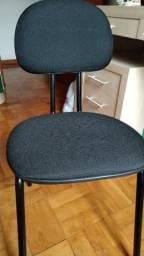 Cadeira de escritório Interlocutor Palito II preto