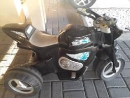Moto elétrica com bateria selada longa duração