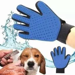 Promoção Luva magnética tira pêlos Cachorros e Gatos Nova Entrego