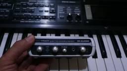 Interface M-audio , placa de audio Usb