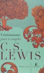 Livro Cristianismo Puro e Simples C. S. Lewis
