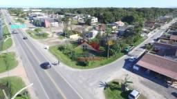 Terreno de esquina à venda na entrada de Praia de Leste - Pontal do Paraná