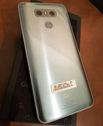 LG G6 Top de linha, Prata, Novo! 4gb ram, 32gb