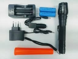 Lanterna Tática LED Profissional strobo sinalizador - muito potente