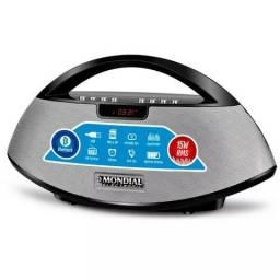 Rádio Portátil Mondial SK-01 com Entrada USB, Bluetooth, Entrada Auxiliar e Rádio FM - 15W