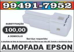 Almofada Epson L395 L396 L455 L495