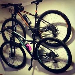 Suporte de bike horizontal TOP!