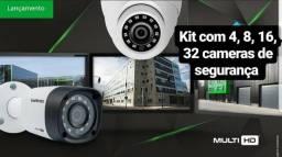 Kit com 2 Cameras de segurança R$649,00