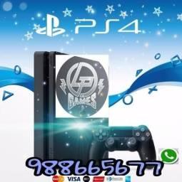 Ps4 slim 500gb zero + jogo e garantia lp games
