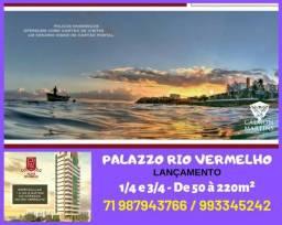1/4 no Rio Vermelho - O mais imponente do Rio Vermelho - Apenas 349.000,00