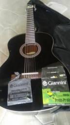 Violão Giannini novo acústico