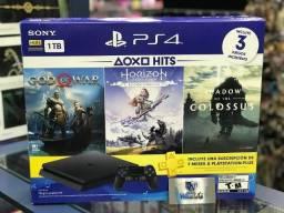 PS4 Slim 1tb Lançamento 2215B Com 9 Jogos