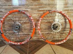 Par de rodas aro 26 Vmax