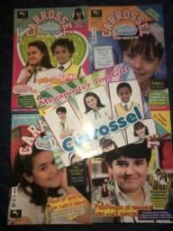 Revistas da Novela Carrossel