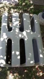 Caixa concreto (ar condicionado de janela)