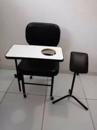Cadeira de Manicure + Tripé - R$ 140,00
