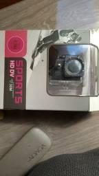 Câmera para filmar com moto