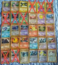 Cartas Pokémon Antigas/Colecionáveis(leia a descrição)