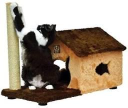 Arranhador Fit House em pelúcia lindo!!!