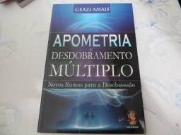 Livro Apometria e Desdobramento Múltiplo