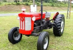 Trator Massey Ferguson 65x RESTAURADO NOVO