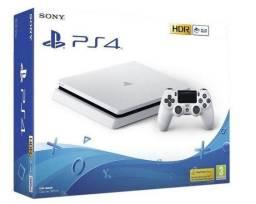 Sony PlayStation 4 Slim 500GB Standard glacier white, Melhor preço!!