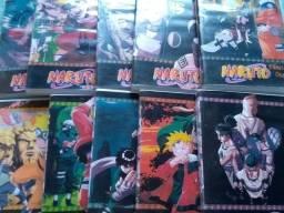 Coleção completa Naruto clássico e Naruto Shippuden