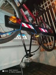 Réguas de Sinalização para Transbike Régua Sinalização Suporte Placa Luz De Led