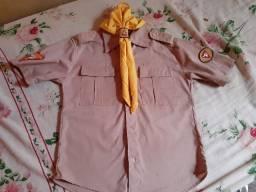 Blusa Desbravadores traje de gala completa