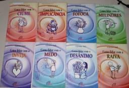 Coleção Emoções ( como lidar com.)- 8 volumes
