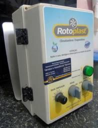 Climatizador Industrial com exaustor e caixa de comando