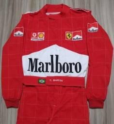 Macacão Kart Ferrari