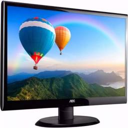 Monitor Philips Led 18.5 Polegadas Hdmi/Vga, 5ms - V5LHSB2