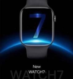 Título do anúncio: Smartwatch Iwo série 7 - w37 - Lançamento + brinde