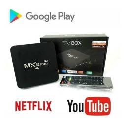 Título do anúncio: TV BOX MXQ PRO 4k/5g.  16GB+256GB ARMAZENAMENTO. ANDROID 11.1. LANÇAMENTO