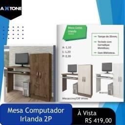 Título do anúncio: Mesa computador irlanda 2p 1071