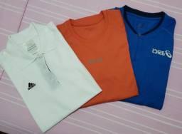 Camisetas Esportivas Asics - Adidas - Reebok