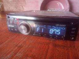 Título do anúncio: Rádio De Carro CD Mp3 Auxiliar