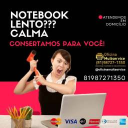 Título do anúncio: Notebook lento??? Consertamos para você!