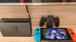 Título do anúncio: Nintendo Switch, troco por ps4 Pro na caixa com nota e garantia.